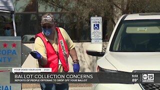 Ballot collection concerns in Arizona