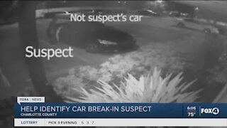 Suspects break into cars in Charlotte County