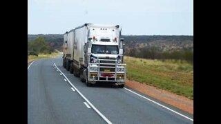 Truck driver loses control and crashes into van
