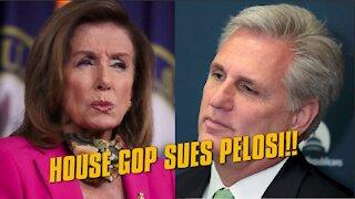 House GOP Reps. SUE Pelosi over metal detectors!