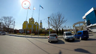 UFO MOLDOVA Comrat City CAUGHT ON CAMERA | you decide is real or fake