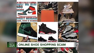 Online show shopping scam