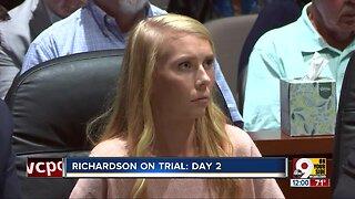 Brooke Skylar Richardson trial: Second day of testimony