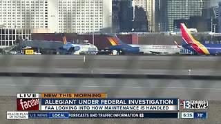 Allegiant under investigation
