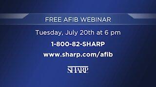 Sharp Memorial: Free Webinar on Advance Treatment for AFIB on July 20th