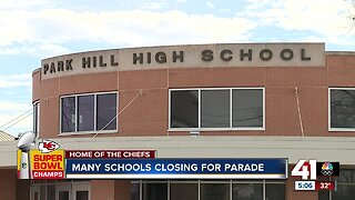 Schools Close for Super Bowl Parade