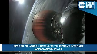 SpaceX launches satellite from Cape Canaveral to increase internet connectivity to Africa
