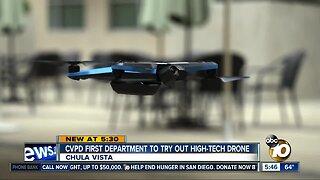 Chula Vista Police unveil new, high-tech drone