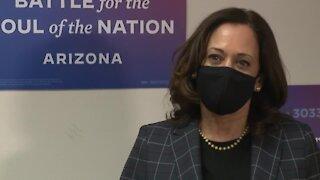Sen. Kamala Harris talks Arizona voting, representing minorities in one-on-one with ABC15