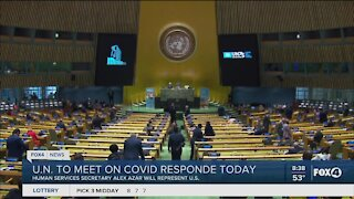 U.N. to talk about global response to Covid