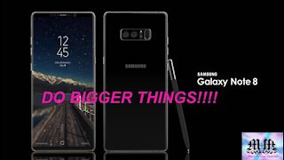 Samsung Galaxy Note 8 Unpacked and reviewed