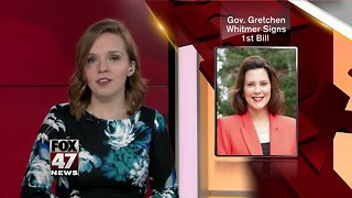 Governor Whitmer signs first bill into law to preserve U.P. judgeship
