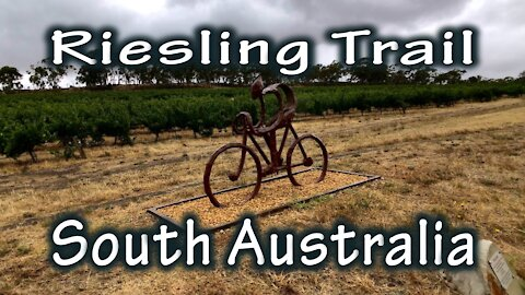 Cycling The Riesling Trail, South Australia