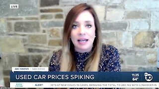 Used car prices spiking