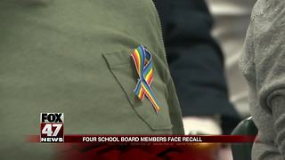 Williamston school board member speaks on recall election