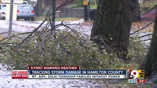 Tracking storm damage in Hamilton County
