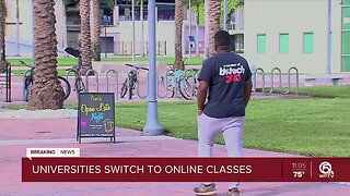 State universities transition to online only classes