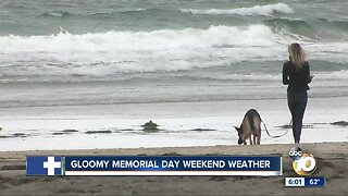 Beach attendance low for Memorial day weekend