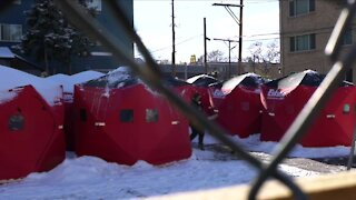 Newest safe outdoor camping space opens outside Denver Community Church