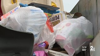 Baltimore City's Dept. of Public Works dumpster pilot program to alleviate recycling delays