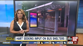 HART wants your input on bus shelter enhancements