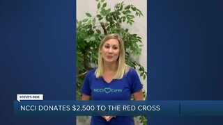 Steve's Ride: NCCI donates $2,500 to Red Cross