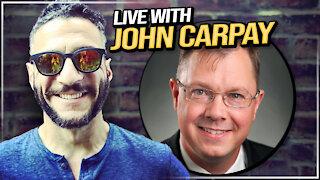 Grace Life Church UPDATE - Live stream with John Carpay -