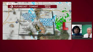 When will the storm move out of Colorado?