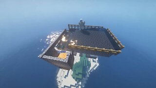 How to Make a Iron Farm in Minecraft