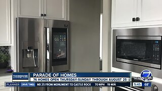 Parade of Homes starts today