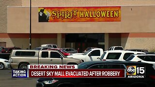 Desert Sky Mall reopens after armed robbery causes evacuation