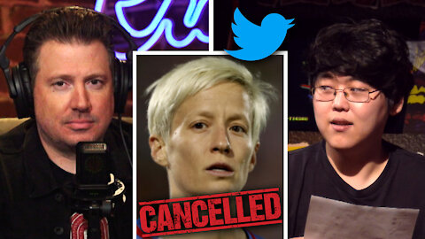 Megan Rapinoe CANCELLED? Asian-American READS Her Racist Tweet   Louder With Crowder