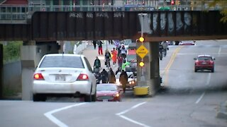 Protesters march from Kenosha to Milwaukee to demand justice against police violence