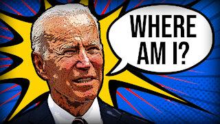 Biden Forgets That He is Outside | Daily Biden Dumpster Fire