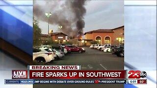 Southwest Structure Fire