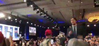 Protestors at Trump Vegas appearance