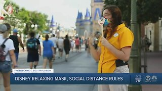Disney World making face coverings optional this week