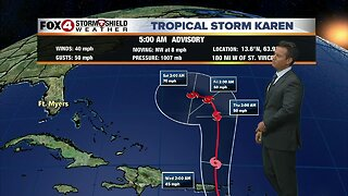 Monday Tropical Update