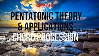 CMP# 301 Pentatonic Theory/Application Guitar Backing Track