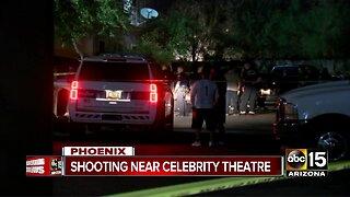 Police investigation near Celebrity Theatre