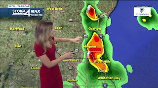 Warming up Thursday with a chance of storms in the evening