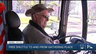 Gathering Place Announces Free Shuttle Program