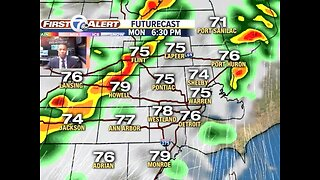 More storms expected Monday