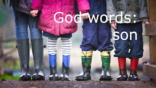 God words: son