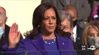 Vice President Kamala Harris achieves several historic firsts