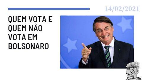 Quem vota e quem não vota em Bolsonaro