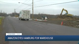 Potential Amazon distribution center planned for Hamburg