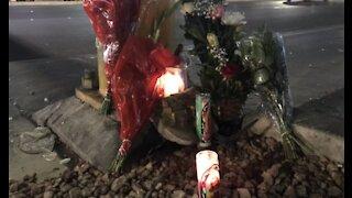 Vegas community reacts to crash that killed mother, injured kids