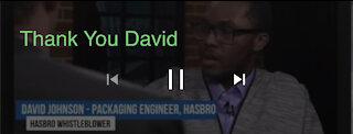 Project Veritas Whistleblower David Johnson Exposed CRT At Hasbro.