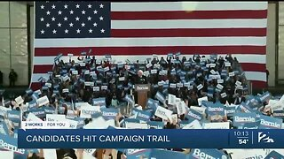 Candidates Hit Campaign Trail